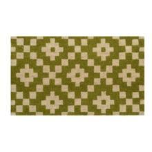 Doormat Mathis Green 18x30