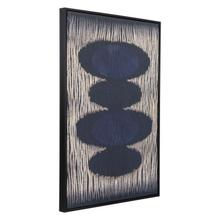See Details - Stacking Stones Canvas Black & Gold