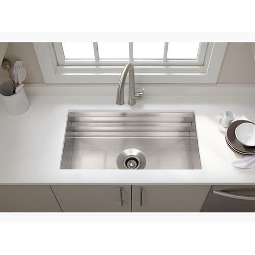 """Stainless Steel Stainless Steel Sink Rack, 32-3/4"""" X 16"""" for K-5283 Strive Kitchen Sink"""