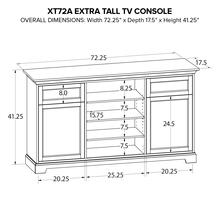 XT72A Extra Tall Custom TV Console