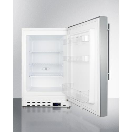 """Product Image - 20"""" Wide Built-in All-freezer, ADA Compliant"""
