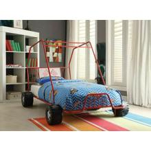 ACME Xander Twin Bed - 37645T - Red Go Kart