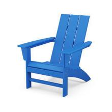 View Product - Modern Adirondack Chair in Pacific Blue