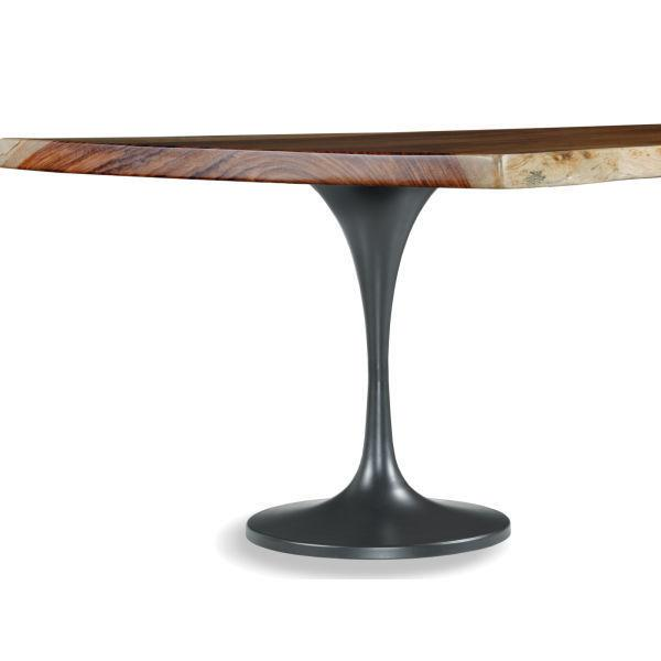 "Live Edge 30"" Dining Height Trumpet Base (base Only)"