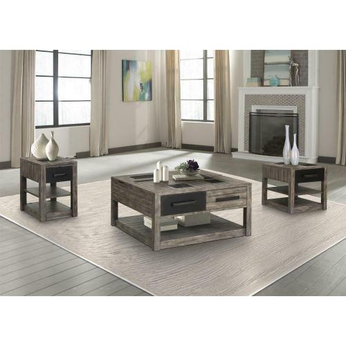 RIVER ROCK End Table