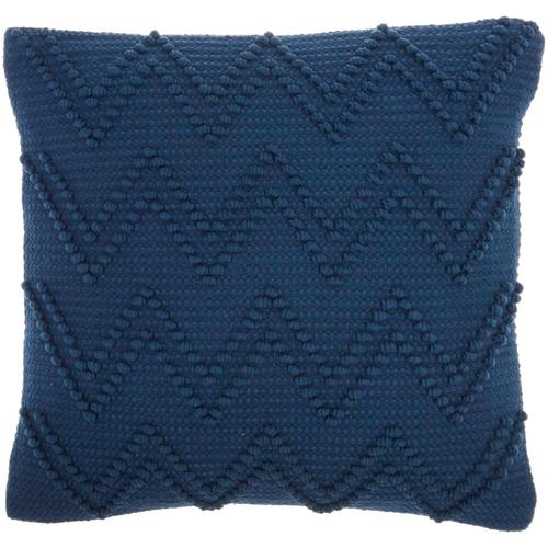 "Life Styles Gc104 Navy 18"" X 18"" Throw Pillow"