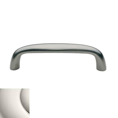 Baldwin - Polished Nickel Oval Pull