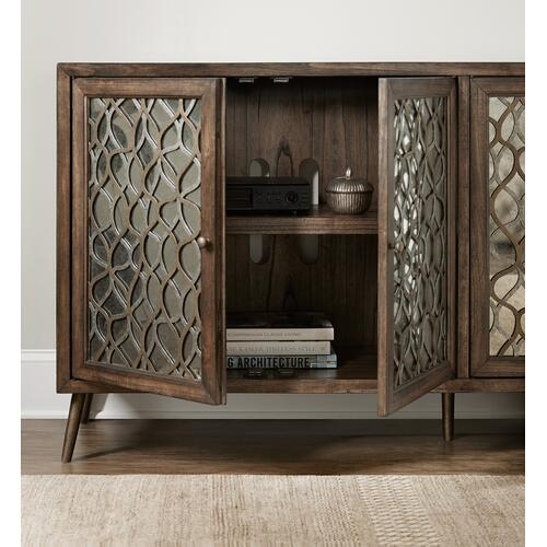 Hooker Furniture - Mixed Metals Entertainment Console