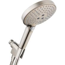 Brushed Nickel Handshower Set 120 3-Jet, 2.5 GPM