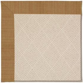 "Creative Concepts-White Wicker Dupione Caramel - Rectangle - 24"" x 36"""