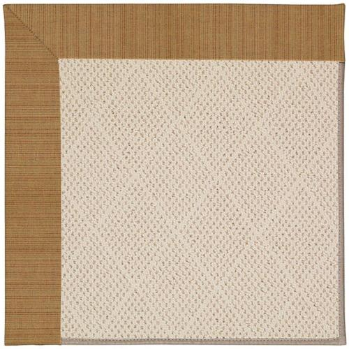"Creative Concepts-White Wicker Dupione Caramel - Rectangle - 24"" x 36"""