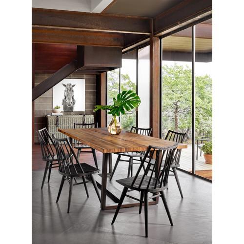 Black Oak Finish Lewis Windsor Chair