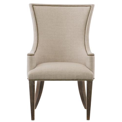 Clarendon Host Arm Chair in Arabica (377)