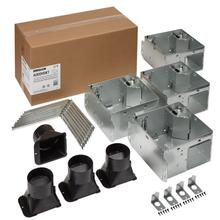 FLEX Series Humidity Sensing Bathroom Ventilation Fan Housing Pack with Flange Kit