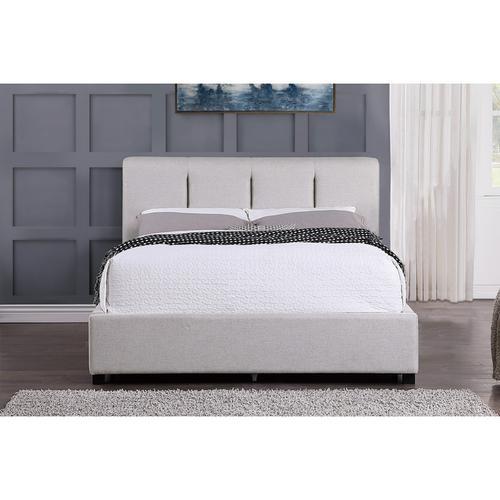 California King Platform Bed with Storage Drawer