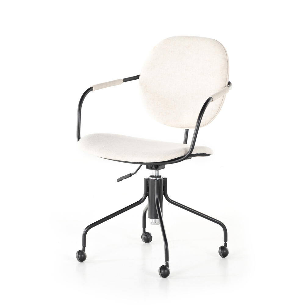 Polo Desk Chair-savile Flax