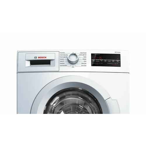 Product Image - 300 Series Washer - 208/240V, Cap. 2.2 cu.ft., 15 Cyc.,1,400 RPM, 54 dBA White/Door, ENERGY STAR