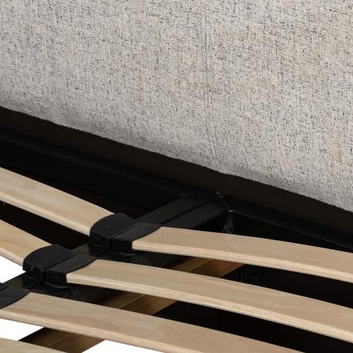 King Size Plushtone Linen Cover Aidan Bed