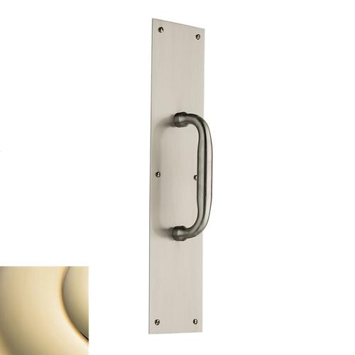 Lifetime Polished Brass 2560 Pull x 2123 Pull Plate