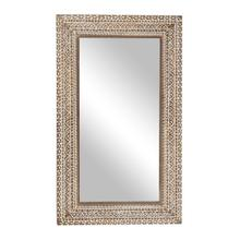 "WD CARVED WALL MIRROR 36""W, 60""H"