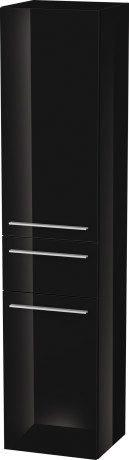 Tall Cabinet, Black High Gloss (lacquer)