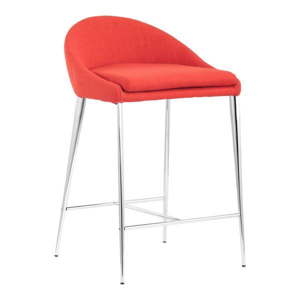 See Details - Reykjavik Counter Chair Tangerine