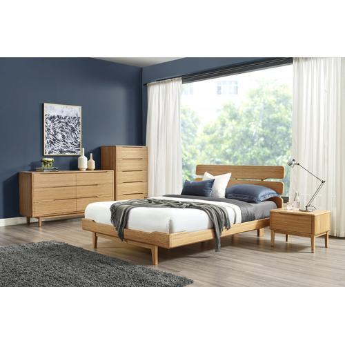 Greenington Fine Bamboo Furniture - Currant Six Drawer Double Dresser, Caramelized