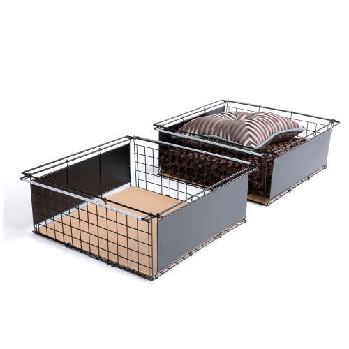 Leggett and Platt - Atlas Metal Slide-Out Drawer for Bed Base Support System, 2-Pack