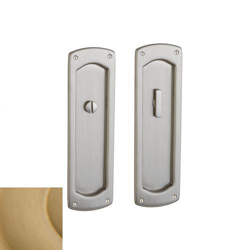Baldwin - Vintage Brass PD007 Palo Alto Pocket Door