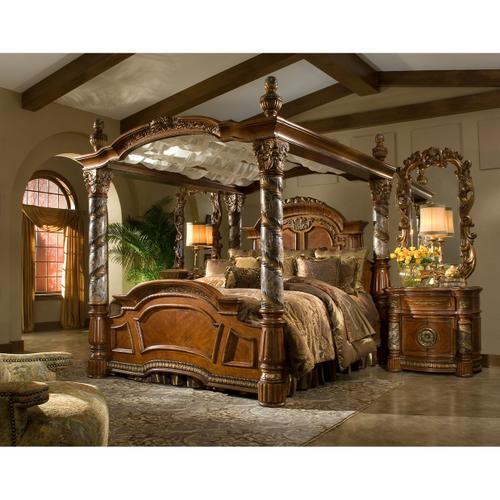 Amini - Eastern King Canopy Bed