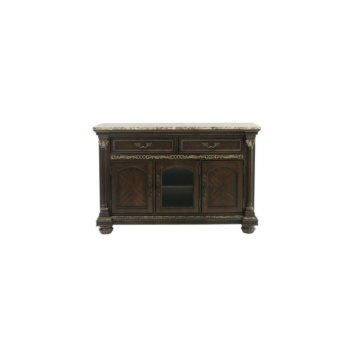 Server with Faux Marble Top