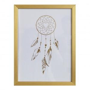 Gold Foil Dreamcatcher