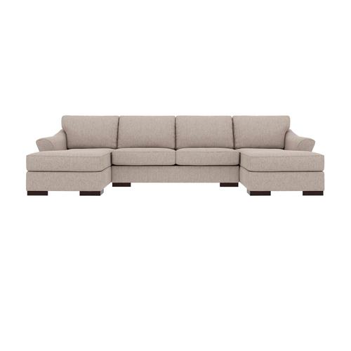 Bantry Nuvella® - Slate 3 Piece Sectional