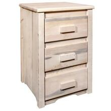 See Details - Homestead Collection Nightstand with 3 Drawers