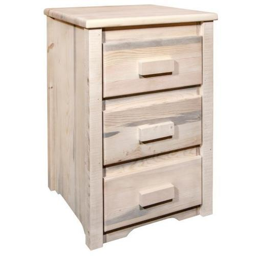 Homestead Collection Nightstand with 3 Drawers