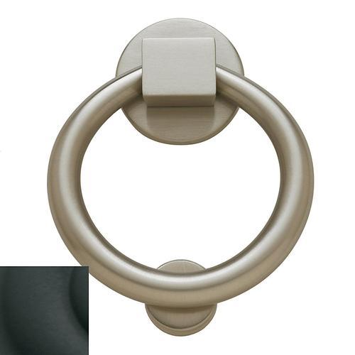 Baldwin - Satin Black Ring Knocker
