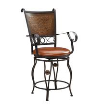 Beatrix Big and Tall Armed Counter Stool