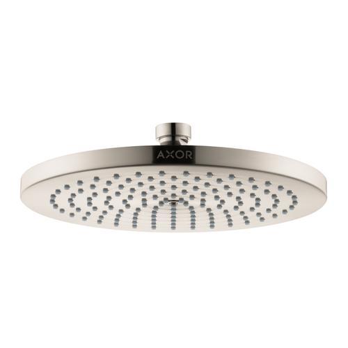 Brushed Nickel Overhead shower 240 1jet 2.0 GPM