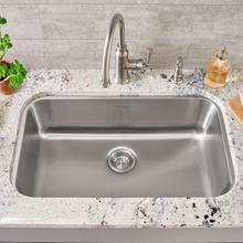 See Details - Portsmouth Undermount 30x18 Single Bowl Kitchen Sink  American Standard - Stainless Steel
