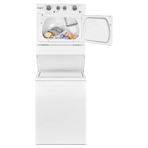 Product Image - 4.0 cu.ft I.E.C. Electric Stacked Laundry Center 9 Wash cycles and AutoDry
