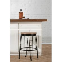 See Details - Northpark Backless Swivel Counter Stool