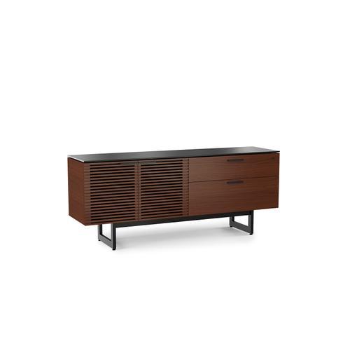 BDI Furniture - Corridor 6529 Storage Credenza in Chocolate Stained Walnut