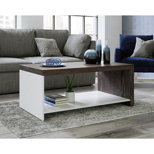 Coffee Table with Open Shelf Storage