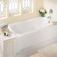 View Product - Cambridge 60x32-inch Integral Apron Bathtub  American Standard - White