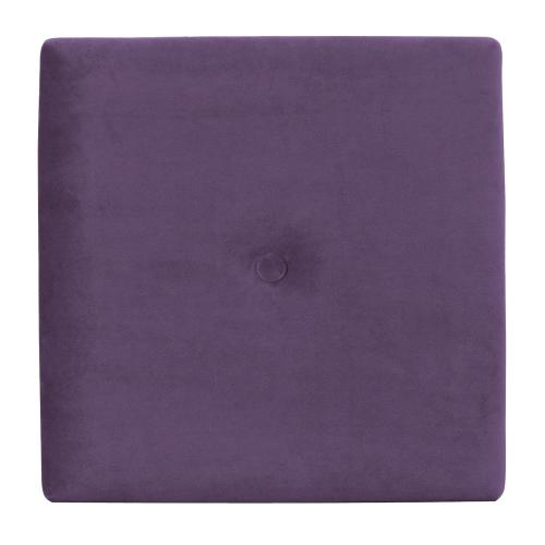 Wall Pixel with Button Bella Eggplant