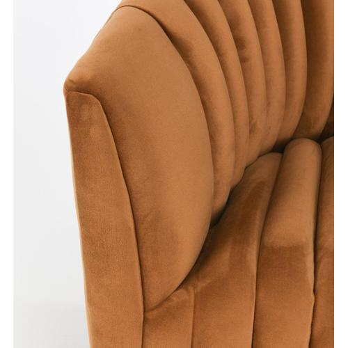 Classic Home - Arline Swivel Accent Chair Bronze