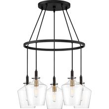 View Product - June Chandelier in Earth Black