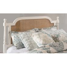 Melanie King Wood Headboard With Frame, White