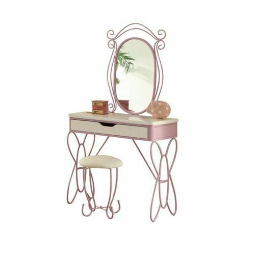 ACME Priya II Vanity Set - 30539 - White & Light Purple