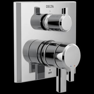 Chrome 17 Series Integrated Diverter Trim - 3 Function Diverter Product Image